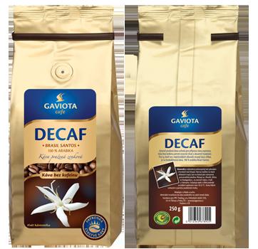 Zrnková káva Decaf