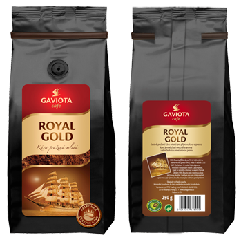 Mletá káva Royal Gold