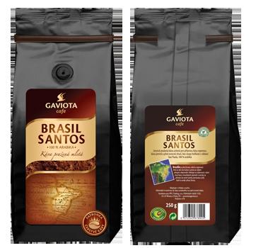 Mletá káva Brasil Santos